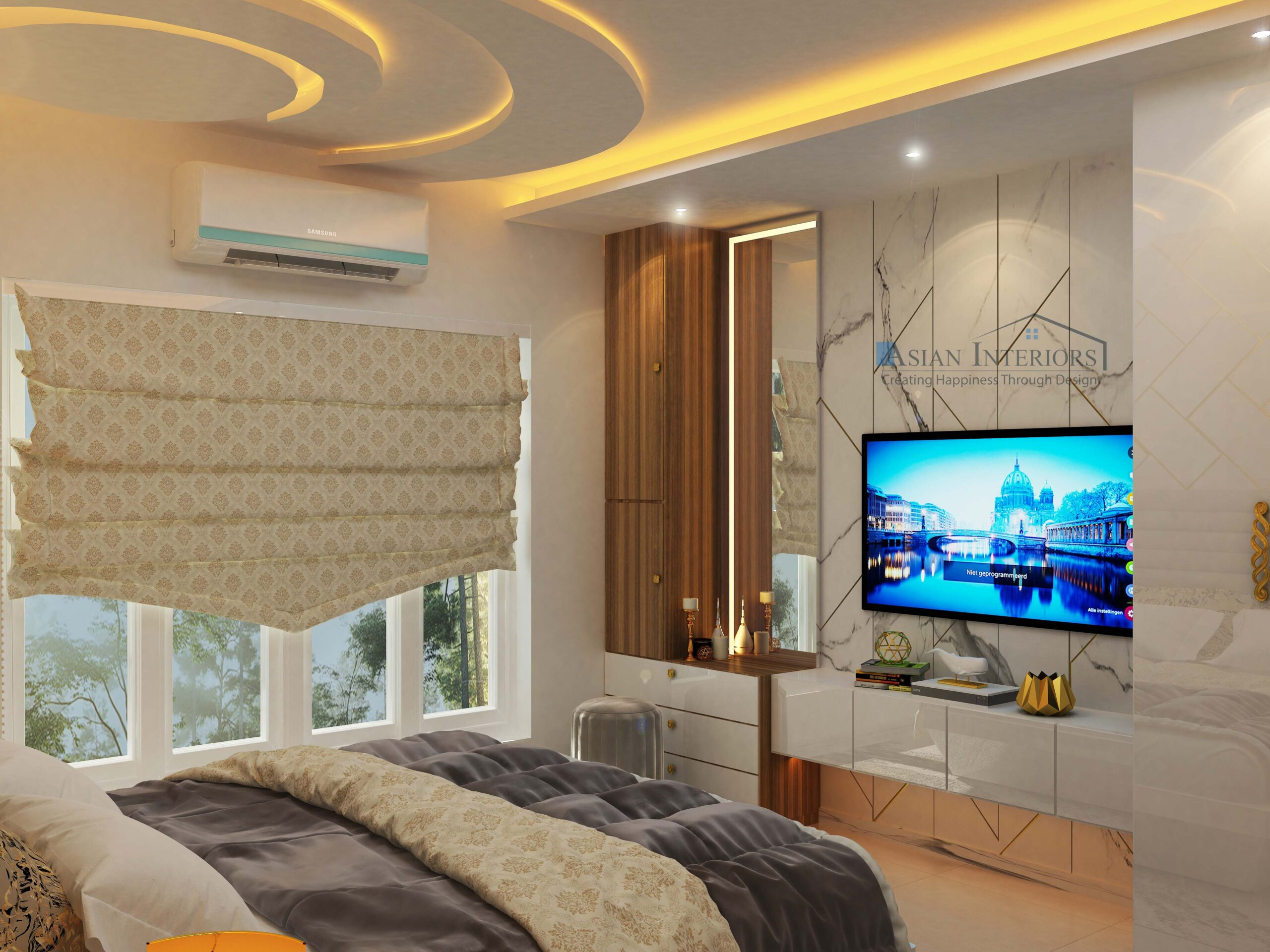MR. SHARMA MASTER BED ROOM VIEW 02